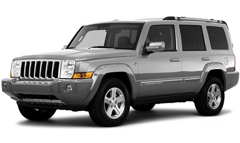 4WD Jeep Commander